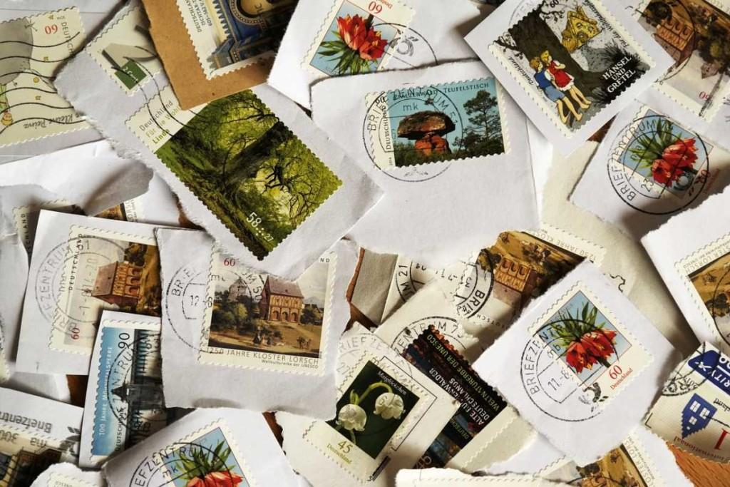 sellos-carta-postal