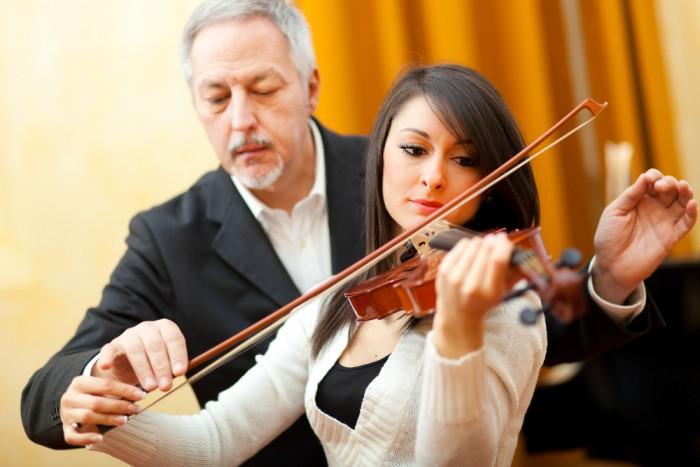 Profesor de música. Instrumentista o docente