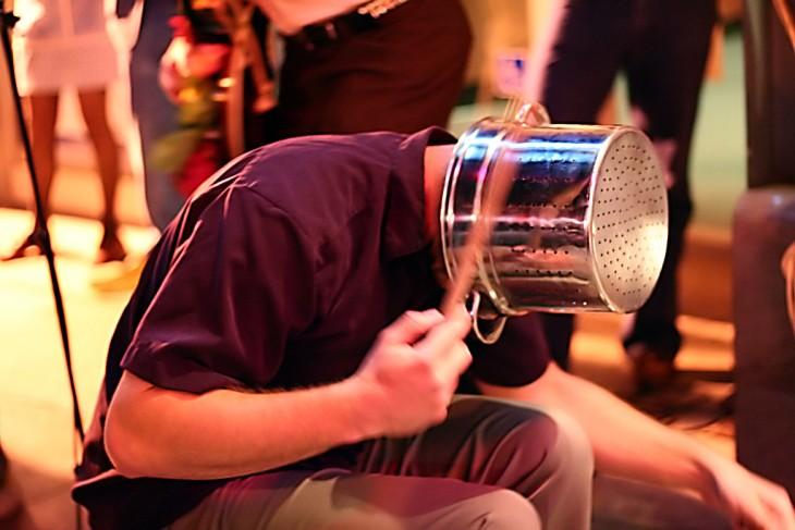 músicos de orquesta - percusión