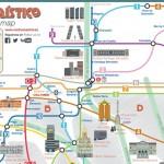 Madrid a través de sus canciones (mapa interactivo)