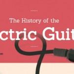 La historia de la guitarra eléctrica (Infografía)