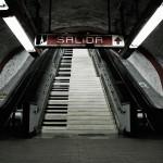 [Vídeo] Escaleras musicales