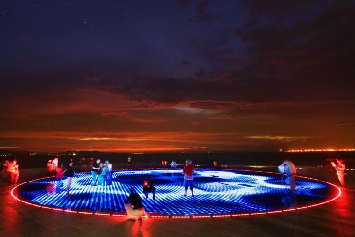 Órgano del mar - Croacia, Zadar