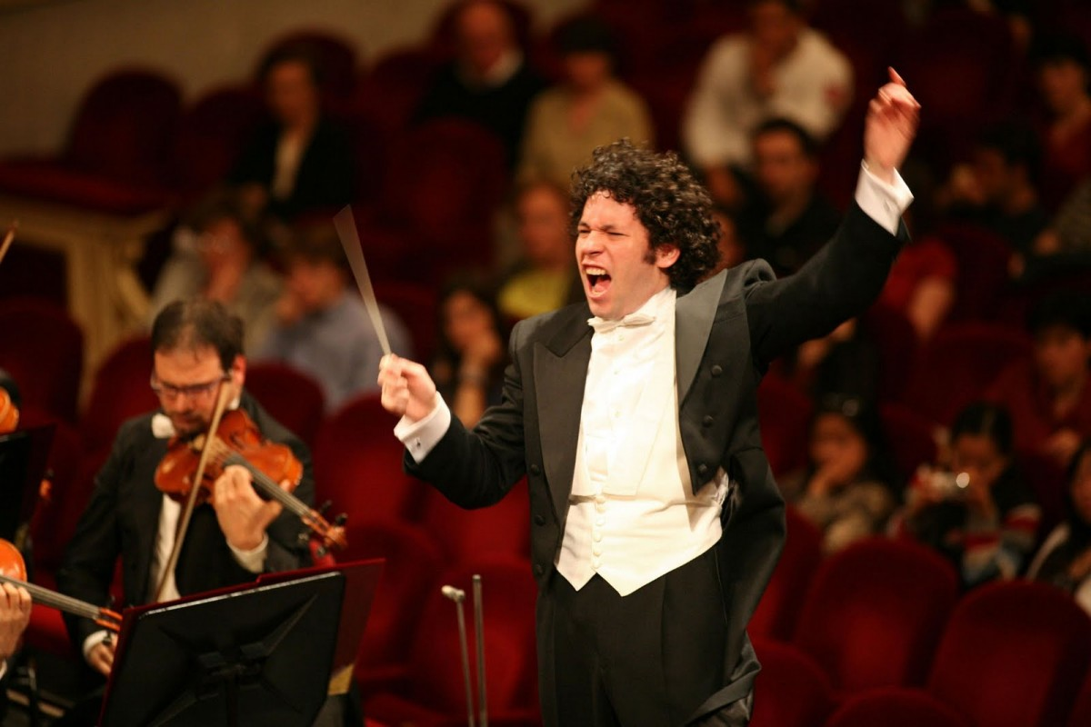 director de orquesta - gustavo dudamel
