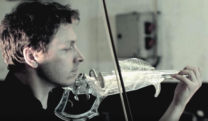 impresión 3d violin