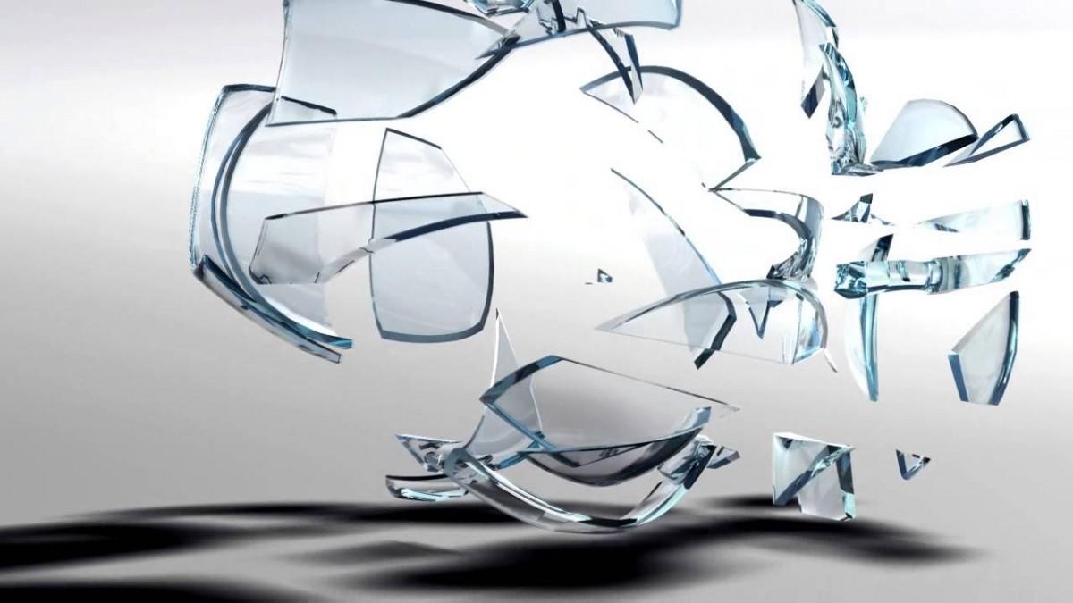 romper copa cristal voz