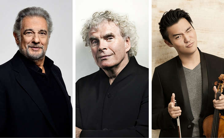 placido domingo simon rattle ray chen