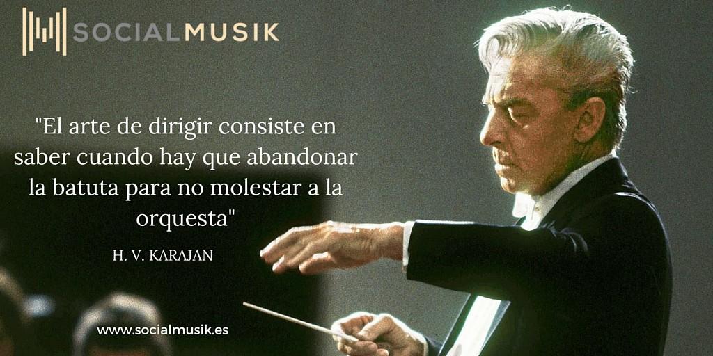 frases de música karajan