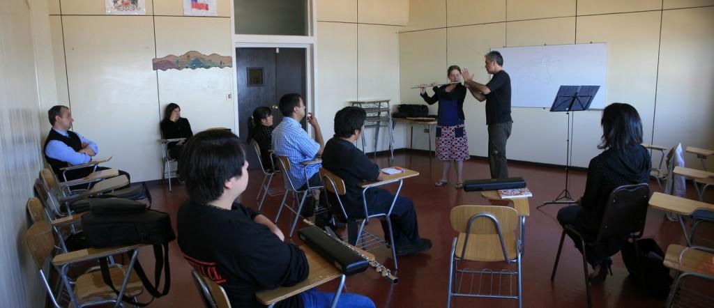 profesor flauta conservatorio