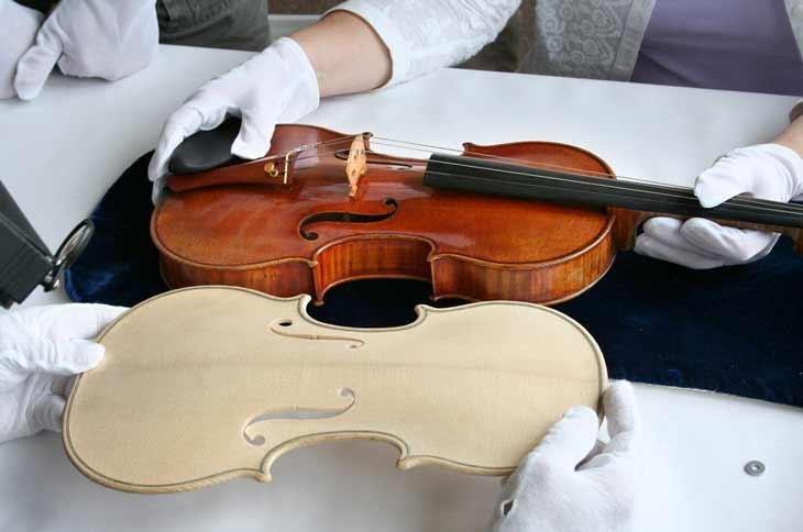 instrumento violin stradivarius